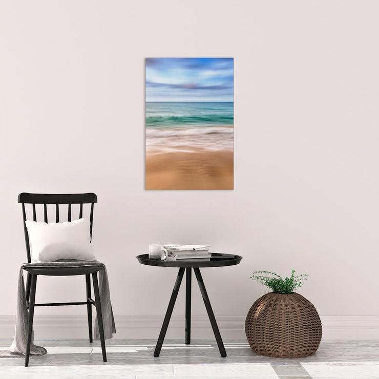Canvas print of Abstract Seascape I by Yuri A Jones