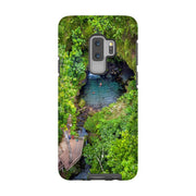 Divers at Emerald Pool Phone Case