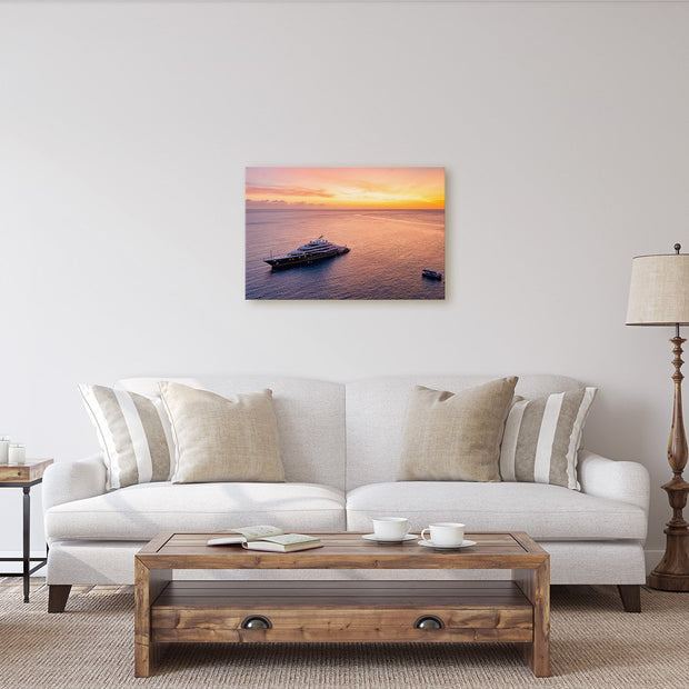 Canvas print of Fire Beyond Symphony by Yuri A Jones
