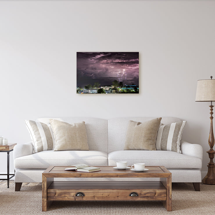 Canvas print of Dorian's Light Show by Yuri A Jones