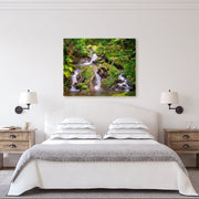 Canvas print of Four Falls by Yuri A Jones