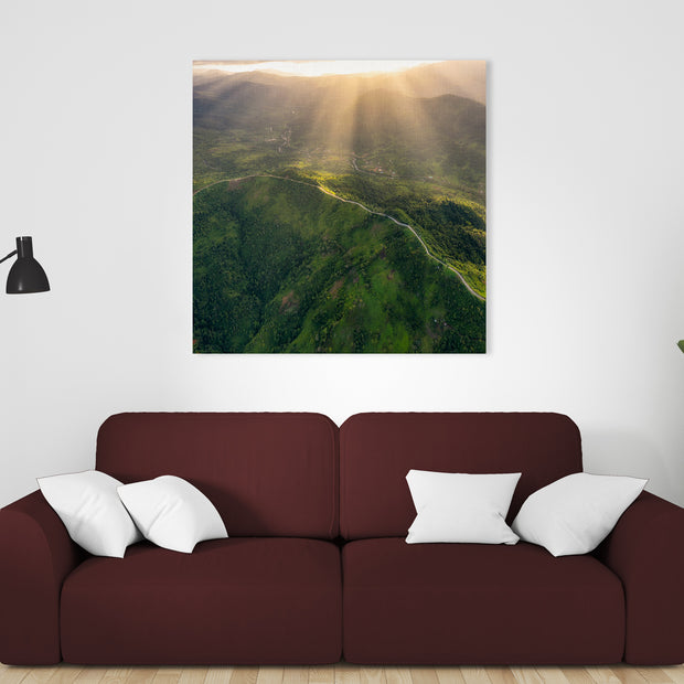 Canvas print of Light the Way by Yuri A Jones
