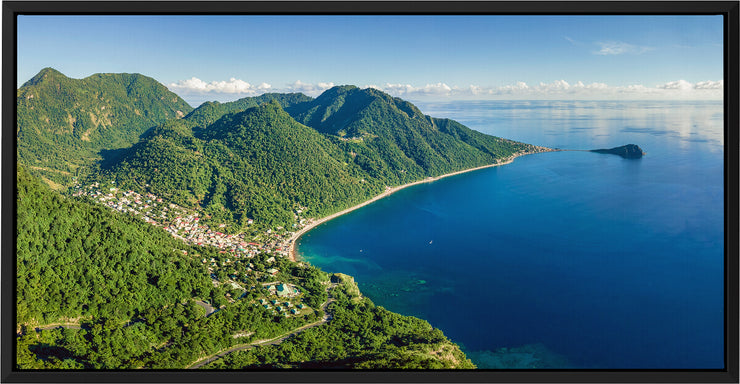 Soufriere From Above