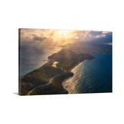Canvas print of Peninsula Sunset by Yuri A Jones