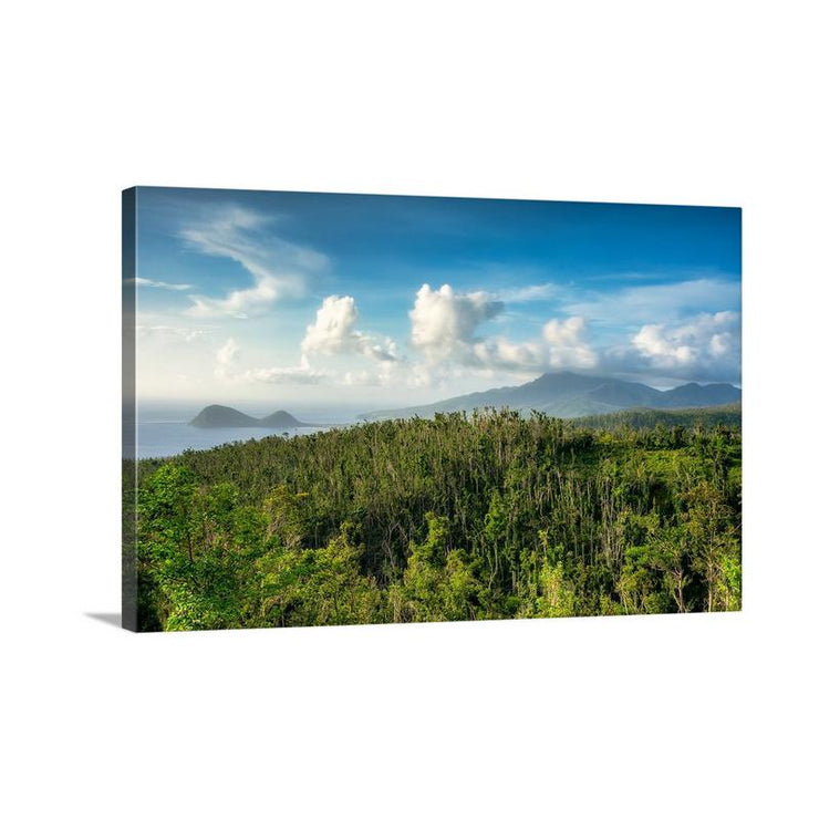 Canvas print of View from Syndicate by Yuri A Jones