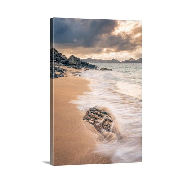 Canvas print of Lover's Beach I by Yuri A Jones