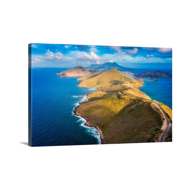 Canvas print of Peninsula Bright by Yuri A Jones