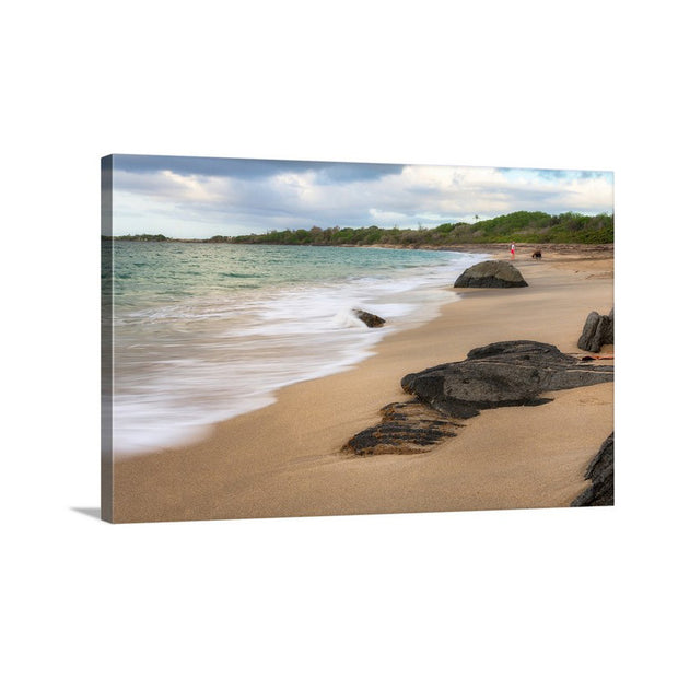Canvas print of Lover's Beach III by Yuri A Jones