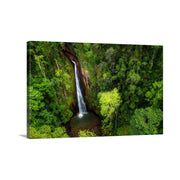 Canvas print of Syndicate Falls from Above by Yuri A Jones