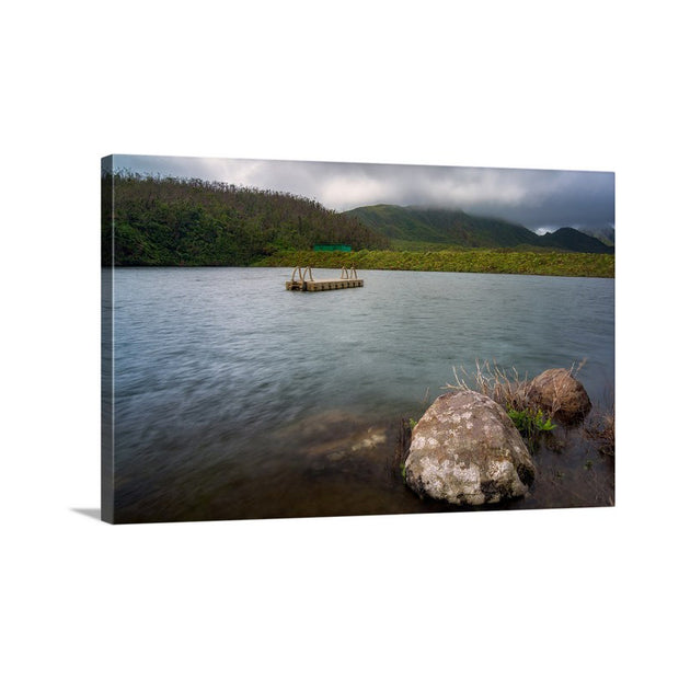 Canvas print of The Rock by Yuri A Jones