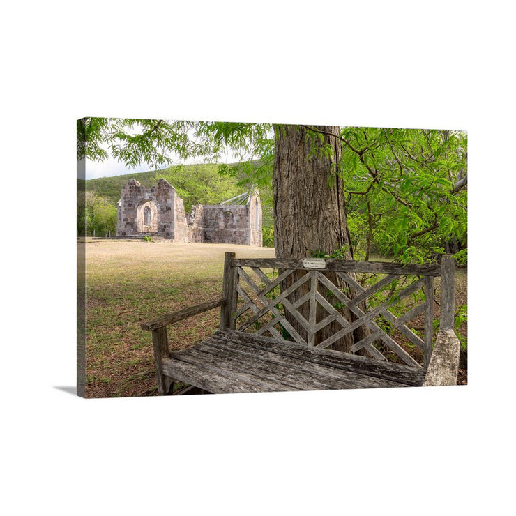 Canvas print of Cottle Church II by Yuri A Jones