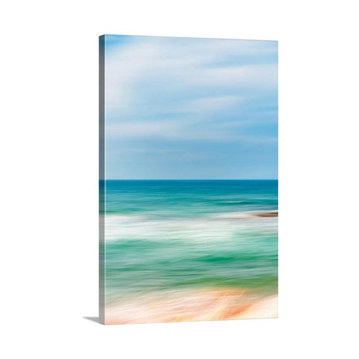 Canvas print of Seascape Abstract III