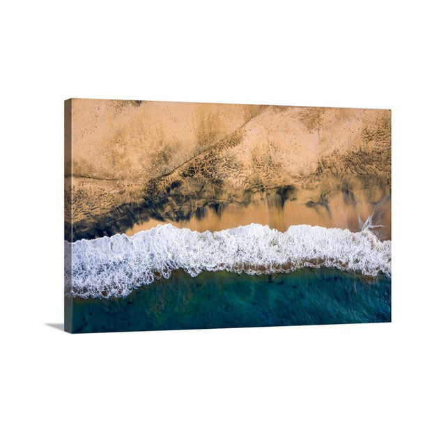 Canvas print of Woody Beach by Yuri A Jones