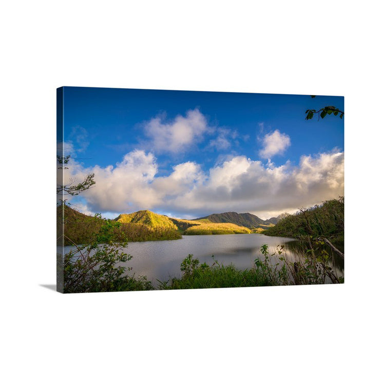 Canvas print of Sunday Reflections by Yuri A Jones