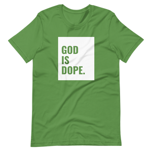 God Is Dope Short-Sleeve Unisex T-Shirt