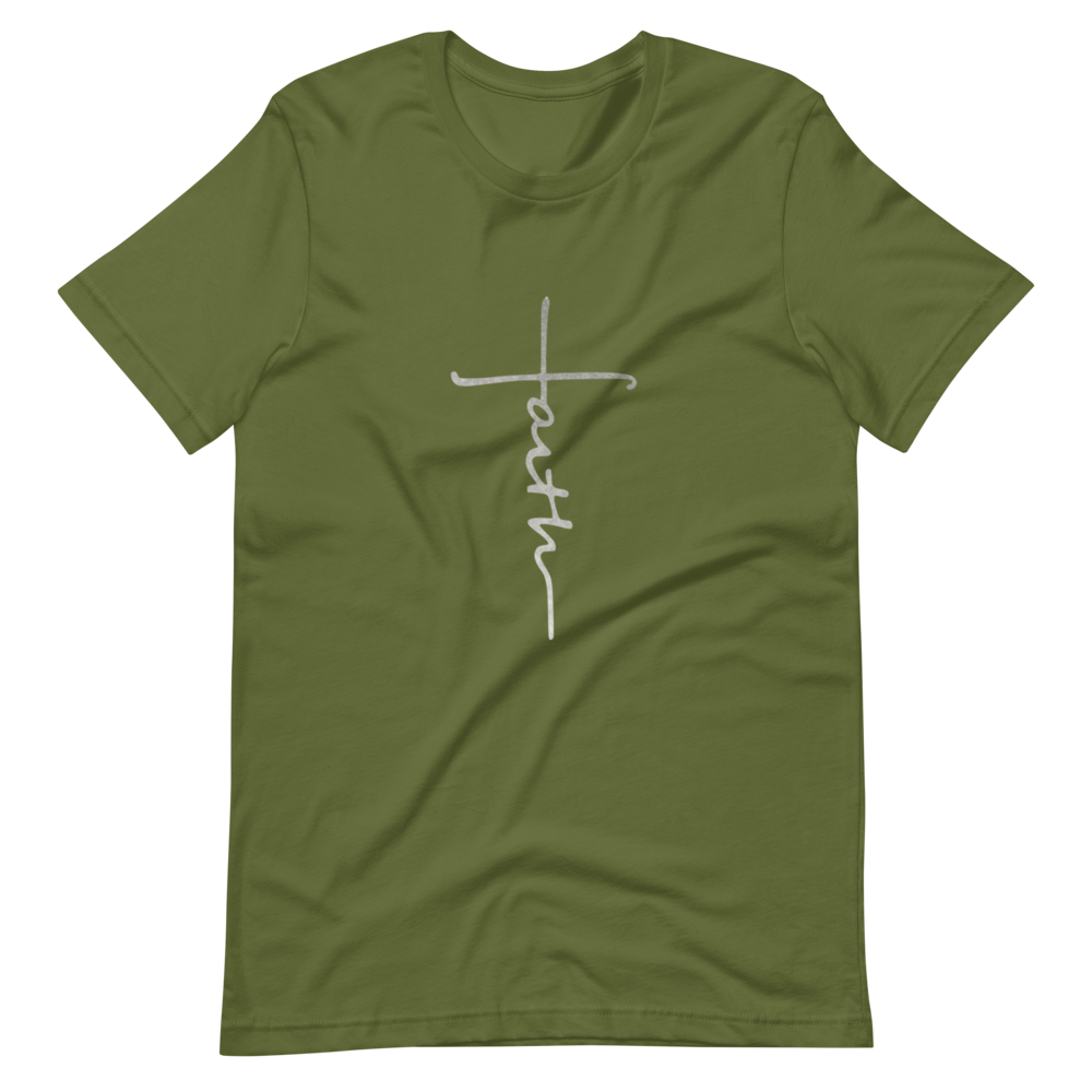 Faith font Short-Sleeve Unisex T-Shirt