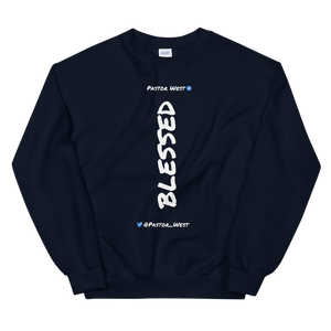 Blessed Sweatshirt (White Text)