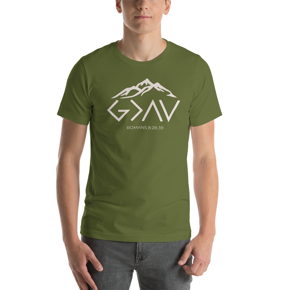 God is GREATER Short-Sleeve Unisex T-Shirt