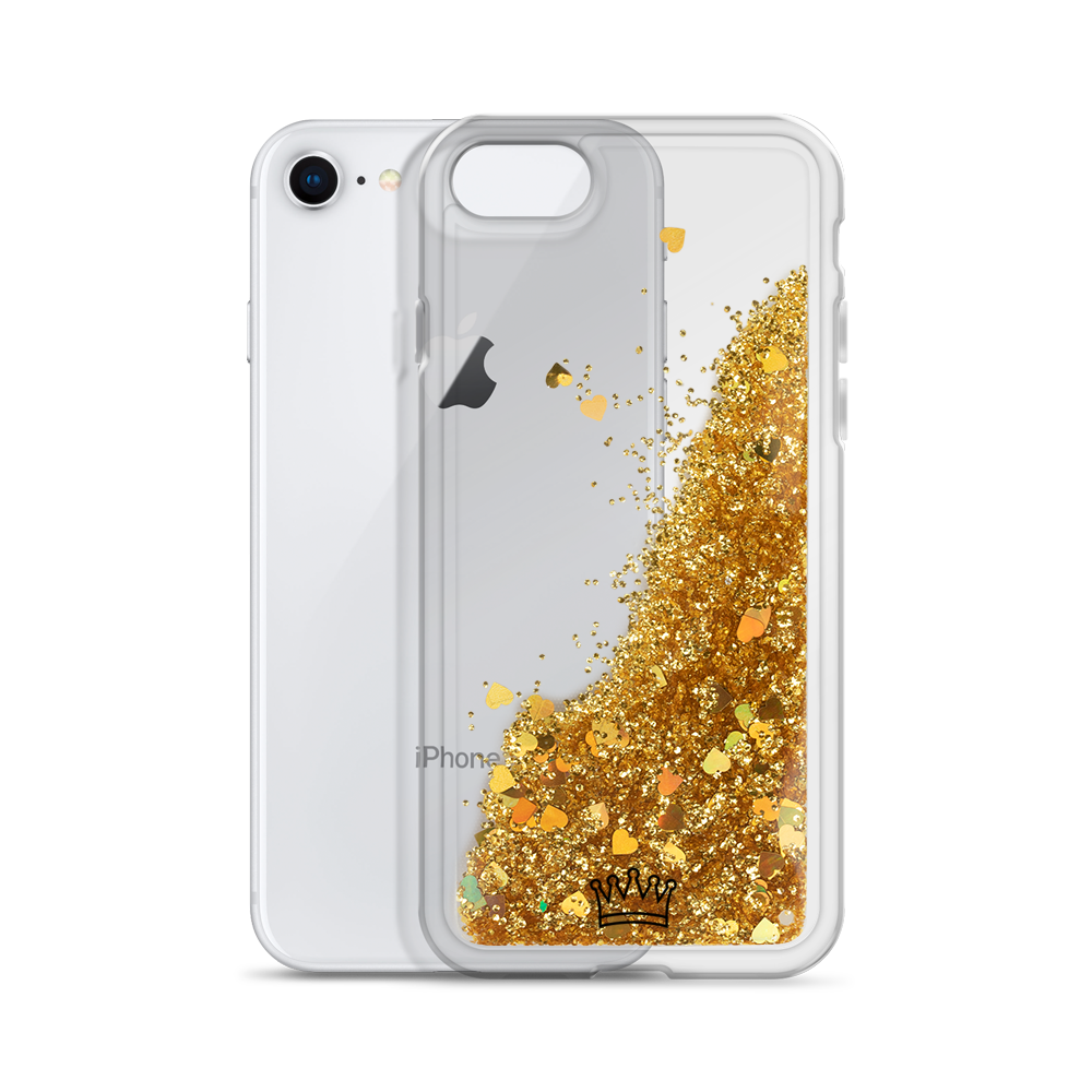 FEMINC Liquid Glitter Phone Case