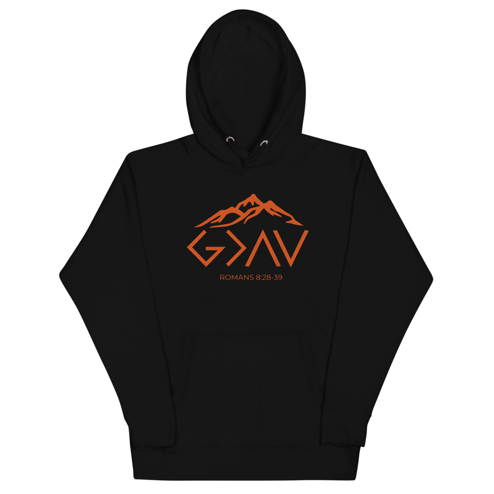 God is Greater Unisex Hoodie