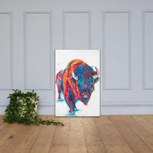 Load image into Gallery viewer, Buffalo (with body) - Canvas Print - Shaunna Russell