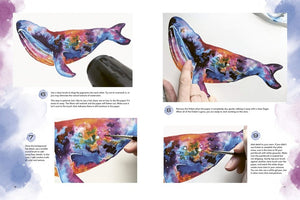 Colorways: Watercolor Animals: Tips, techniques, and step-by-step lessons for learning to paint whimsical artwork in vibrant watercolor - Shaunna Russell
