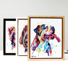 Load image into Gallery viewer, Commissioned Watercolor Pet Portrait - Shaunna Russell
