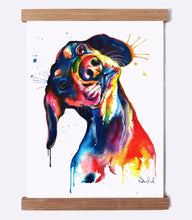 Load image into Gallery viewer, Dachshund - Watercolor Print - Shaunna Russell