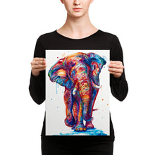 Load image into Gallery viewer, Elephant on Canvas - Shaunna Russell