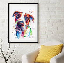 Load image into Gallery viewer, Jack Russell Terrier - Watercolor Print - Shaunna Russell