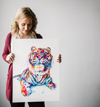 Load image into Gallery viewer, Tiger - Original Painting - Shaunna Russell