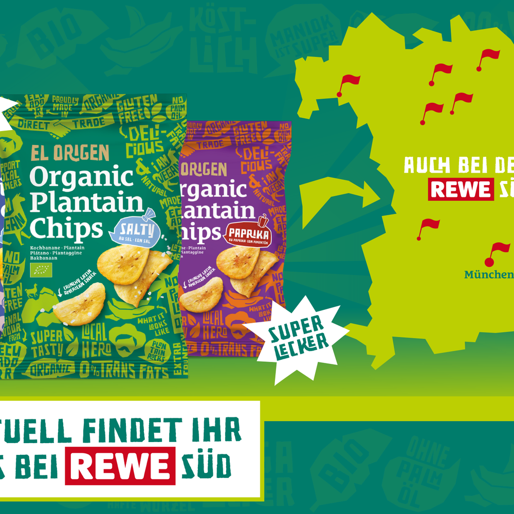 REWE Süd we are coming