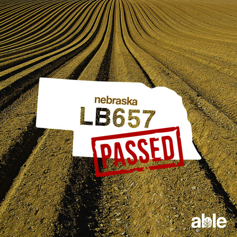 Nebraska passes HEMP law