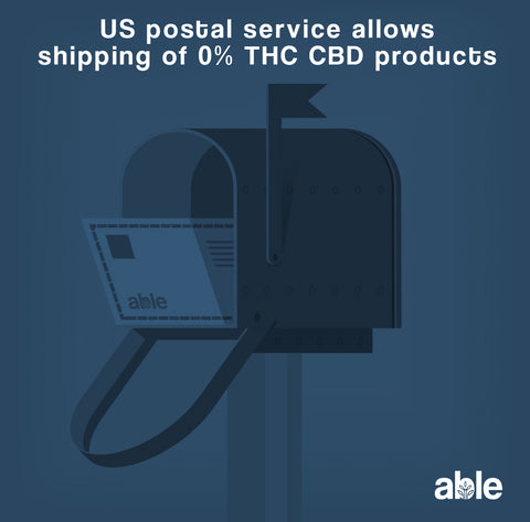 USPS EXPANDS APPROVED CBD SHIPPING POLICY (YAY!)