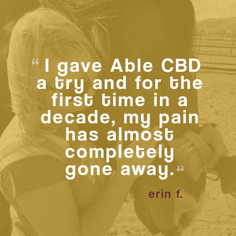 ABLE CBD OIL CHANGED MY LIFE