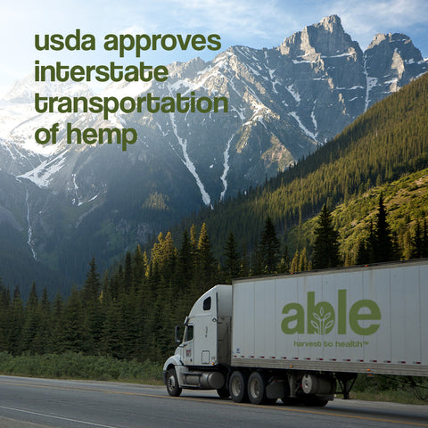 USDA CHANGES HEMP TRANSPORT LAW