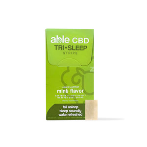 ABLE CBD TRI•SLEEP STRIP COMPLEX - SINGLE 10 PACK (10 total strips)