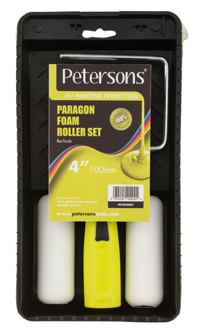 Petersons Paragon Foam 4 inch Roller Set