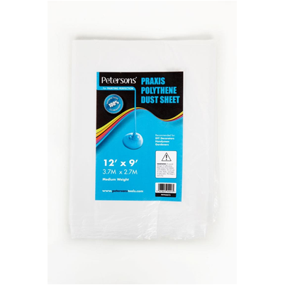Petersons Praxis Polythene Dust Sheet