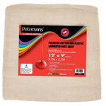 Petersons Predator Cotton and Plastic Dust Sheet 12ft x 9ft