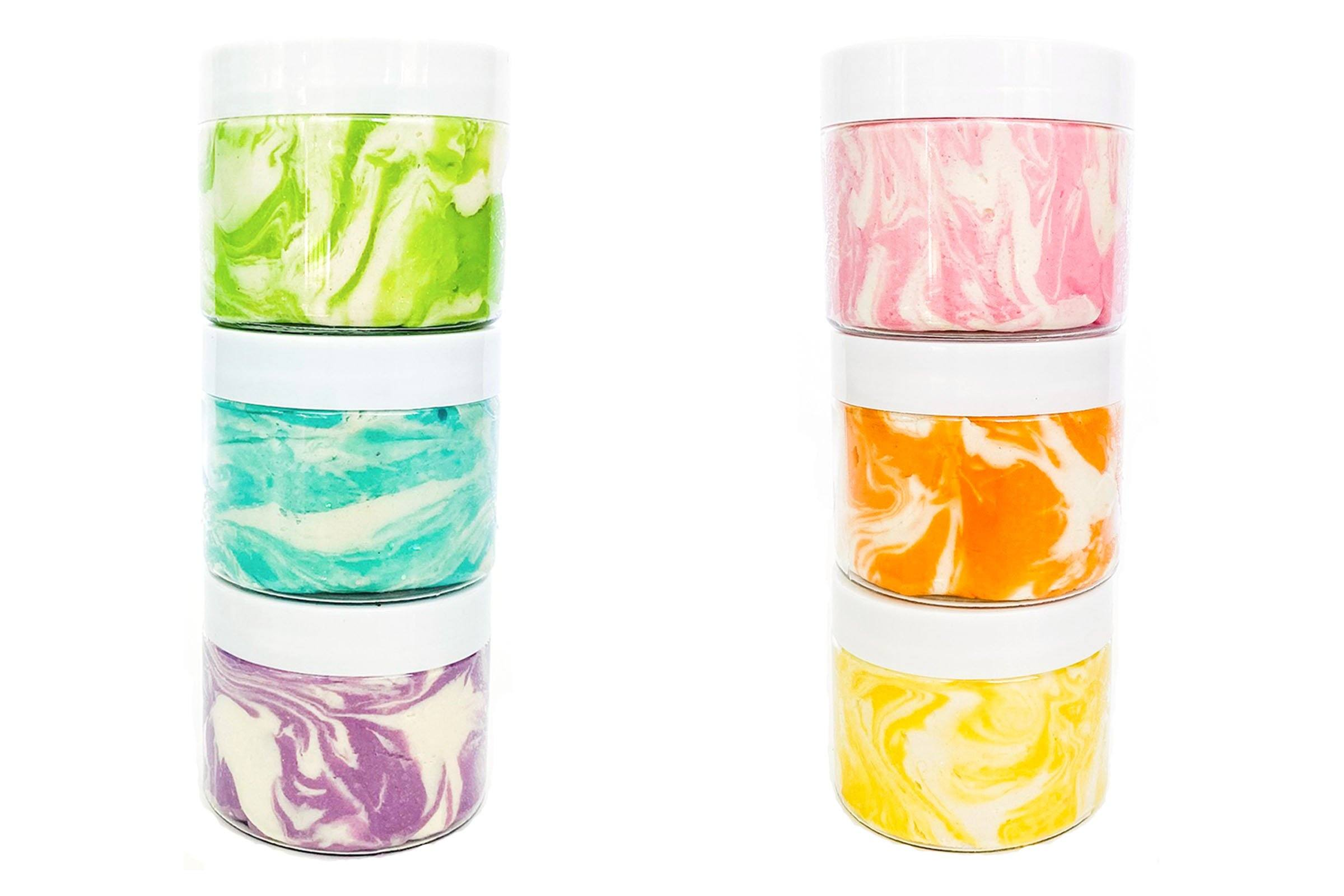 Tie Dough Surprise Jars Sensory Dough Young, Wild & Friedman
