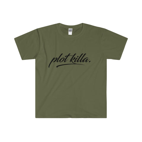 """Plot Killa"" Men's Fitted Short Sleeve Tee"