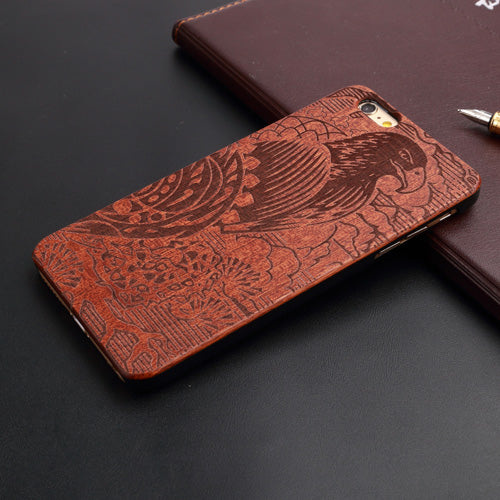 Custom eagle wood case