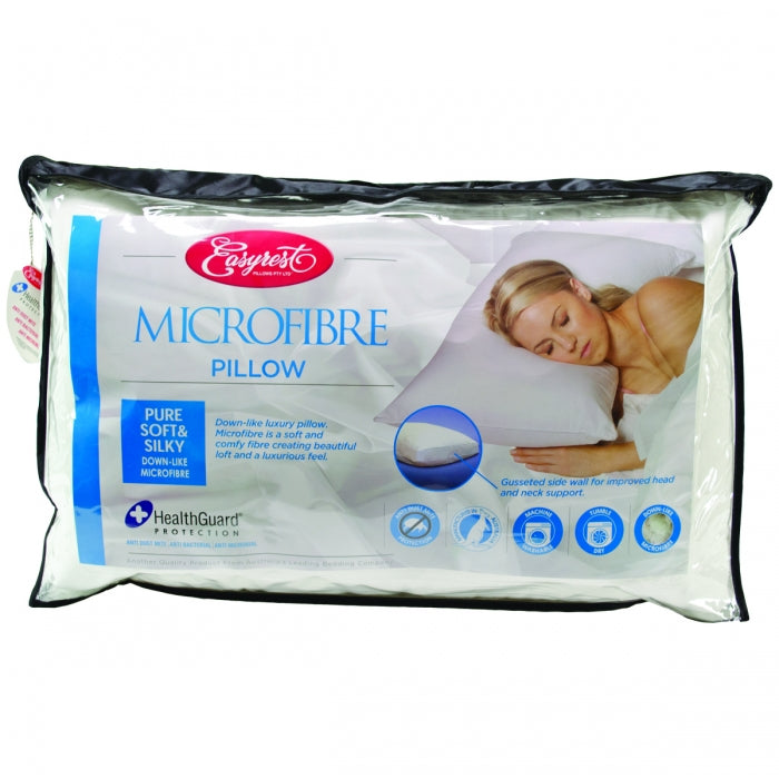 Easyrest 100% Micro Fibre Standard Pillow