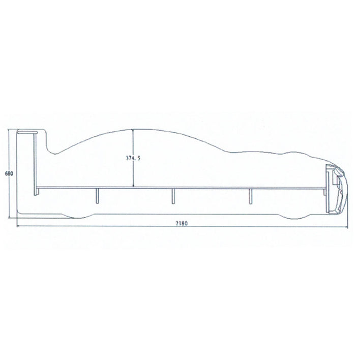 MRX Racing Car Bed