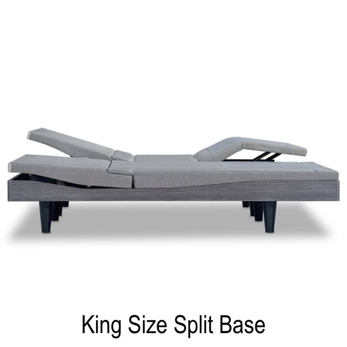 Reverie 9T™ Wireless Electric Adjustable Bed Base - King Size Side Shot