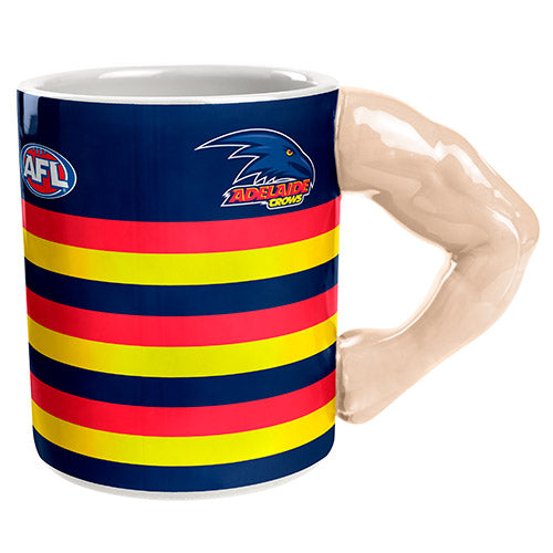 Adelaide Crows Moulded Muscle Mug