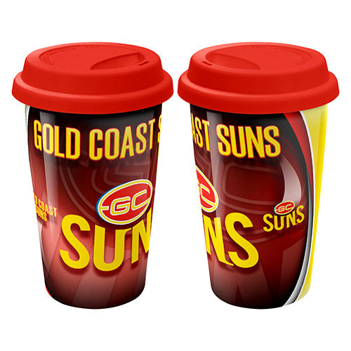Gold Coast Suns Ceramic Travel Mug