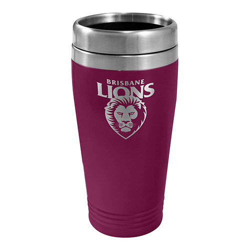 Brisbane Lions Stainless Steel Travel Mug