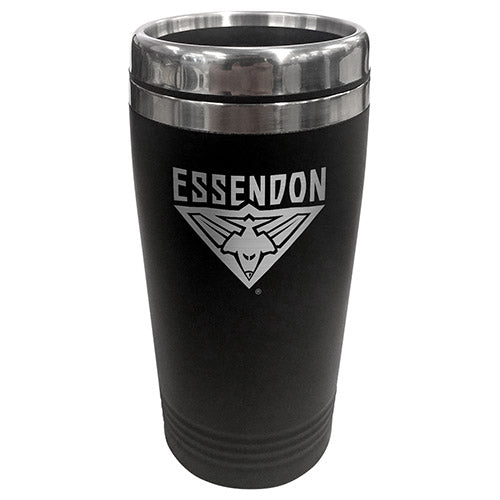 Essendon Bombers Stainless Steel Travel Mug